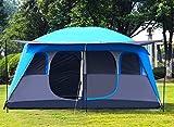 Zelt Camping, Zwei Schlafzimmer, Mehrere Camping, Regendichte Große, 4-12 Personen
