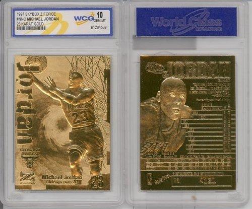 1997 Michael Jordan 23k Gold Cards Gem-mint by Basketball -