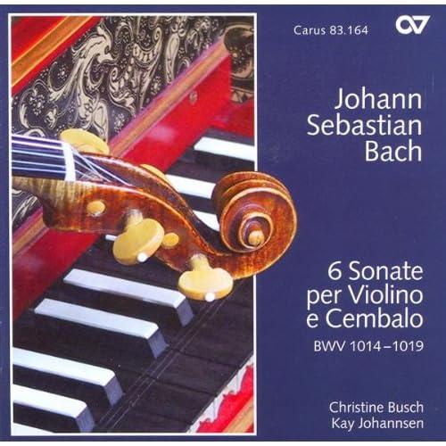 Sonata No. 2 for Violin and Harpsichord in A major, BWV 1015: I. [Dolce]