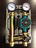 Pumpengruppe mit Mischer Heizkreisset 1