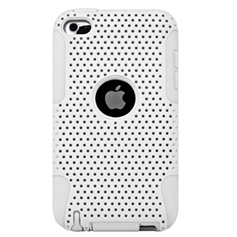 Dual Protection Back Cover Case with Black Skin for Apple