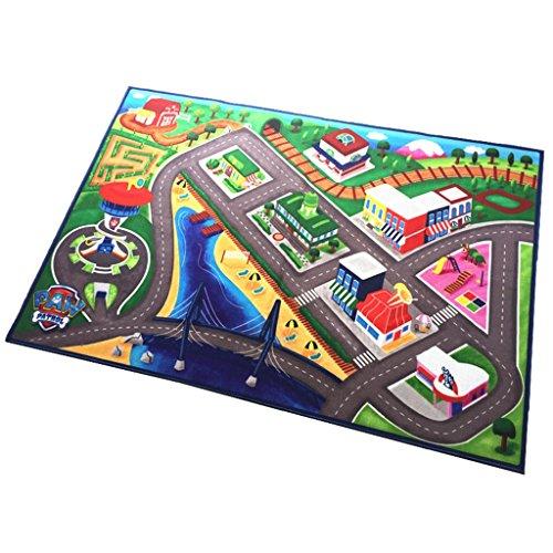 DSADDSD *Wohnzimmer teppiche Traffic Track Spiel Teppich Spaß Baby Crawling Mat Baby Teppich Kind als Geburtstagsgeschenk * Geometrischer Teppich (Farbe : B, größe : 137 * 198cm)
