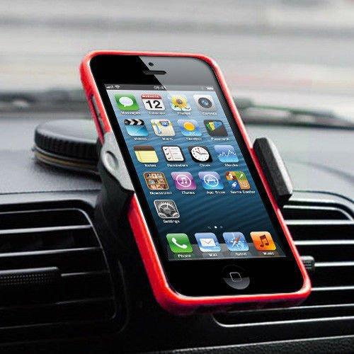 Evaluemart-jx-1055-Round-Universal-Car-Mobile-Holder-Black