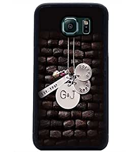 PrintDhaba Pendant D-2374 Back Case Cover for SAMSUNG GALAXY S6 EDGE (Multi-Coloured)