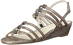 Gerry Weber Women's Alisha 03 Dress Sandal, Old Bronze, 38 EU/7 M US