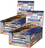 Weider - 40% High Protein Low Carb Riegel - Erdnuss-Karamell (2 x 20 Riegel à 100 gr.)