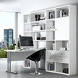 wohnzimmer sophal 21 eiche regalwand schreibtisch schrank vitrine regal wohnwand. Black Bedroom Furniture Sets. Home Design Ideas