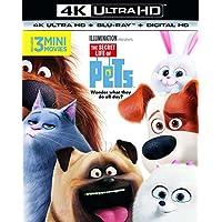 THE SECRET LIFE OF PETS 4K UHD+2DBD/UV