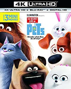 THE SECRET LIFE OF PETS 4K UHD+2DBD/UV [Blu-ray] [2017]