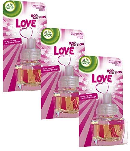 Air Wick Electrique Pop Love Recharge 19 ml - Lot de 3