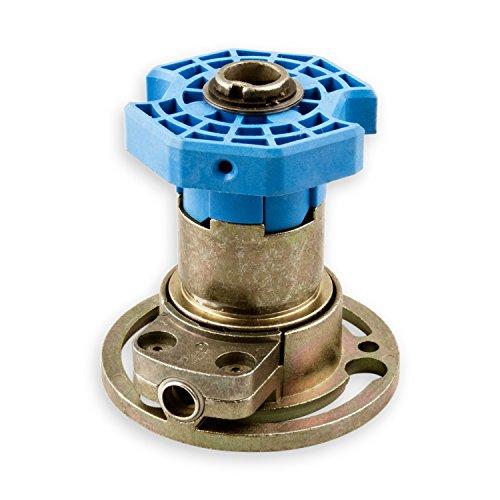 DIWARO® Kegelradgetriebe K029 | Untersetzung 3:1 rechts | Antrieb 6mm Innenvierkant (durchsteckbar) | für SW 60 achtkant Stahlwelle | Kurbelgetriebe, Rolladengetriebe Kleine Motor Kupplung