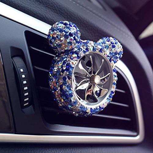 Creative Bling Crystal Car Outlet Clip Luft Frischer Parfüm Car-Styling Interior In Auto-Accessoires Für Mädchen Damen Frauen