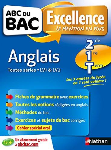 ABC du BAC Excellence Anglais 2de 1re Term