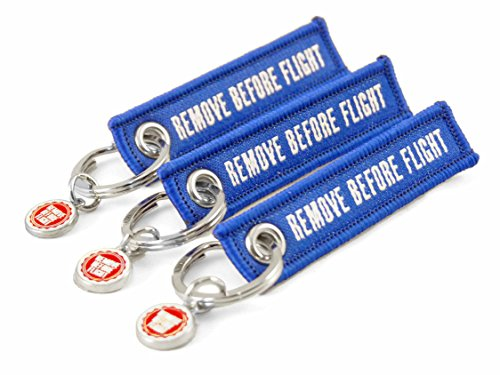 3er-set-mini-schlusselanhanger-remove-before-flight-blau