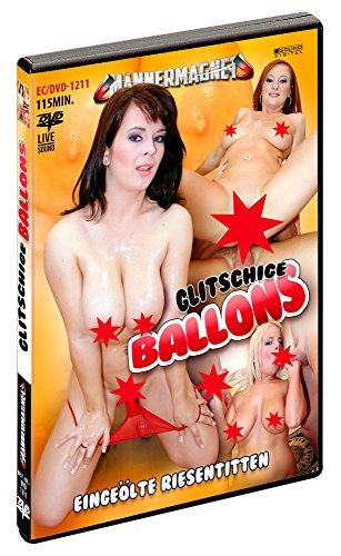 Preisvergleich Produktbild Glitschige Ballons - Eingeölte Riesen-Titten! Live-Ton. DVD,  ca. 115 Minuten. Label: Männermagnet