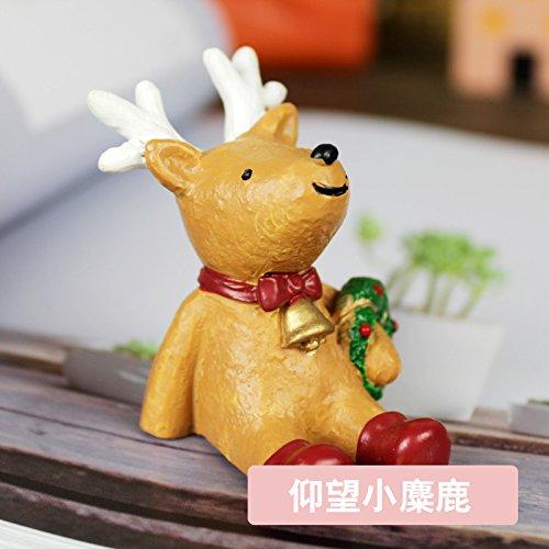 Come il cielo Natale edizione home decorazioni incantevoli escursioni swing-doni creativi , look piccolo (Piccolo Elk)