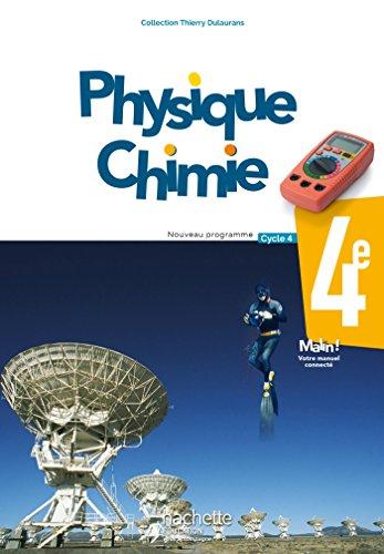 Physique-Chimie cycle 4 / 4e - Livre lve - d. 2017