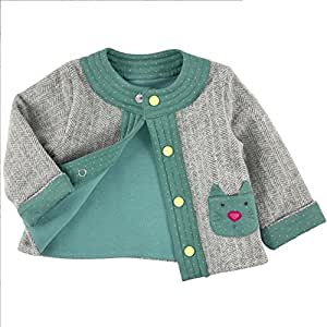 Moulin Roty - 660805 - Les Pachats - Cardigan - Flamboyant - 23 mois