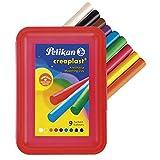 Pelikan 198/9R - Creaplast  Knete 9 verschiedene Farben in Kunststoffbox