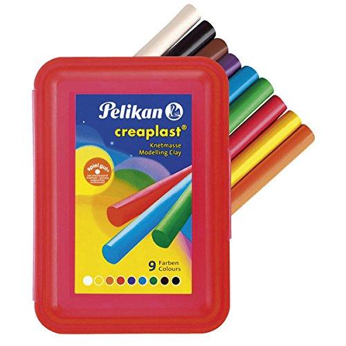 Pelikan 198/9R - Creaplast  Knete 9 Kunststoffbox -