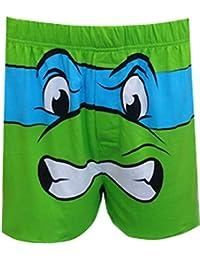 Teenage mutant ninja turtles leonardo boxer-short style rétro