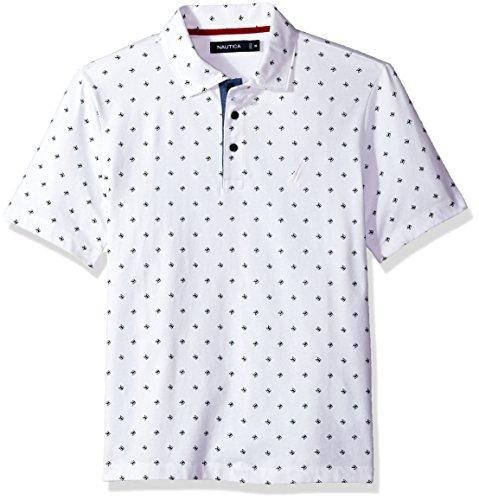 Nautica Herren Poloshirt Weiß (Bright White)