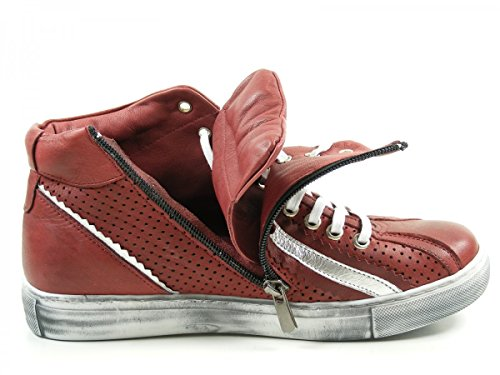 Andrea Conti Ladies 0344505 Sneaker Alta Rosso