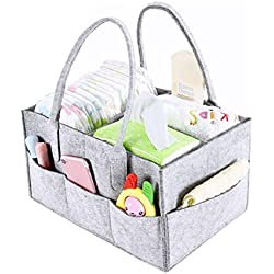 Babywindel-Organisator-tragbares Auto-Organisator-Tote-Babyparty-Korb-Kindertagesstätten-Speicher-große tragbare Auto-Reise-Tasche
