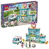 Lego Friends - Hospital de Heartlake City, Juguete de Construcción, Incluye Muñeca de Emma, La Doctora Maria y Ethan, A Partir de 6 Años, Novedad 2020 (41394)()