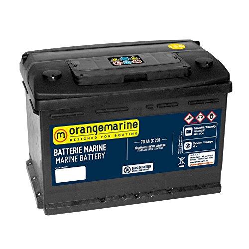 Batterie de démarrage pour bateau de 50 à 180 Ah
