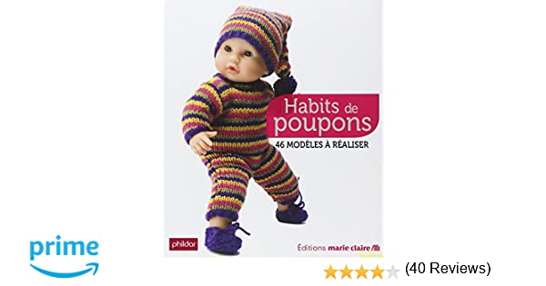 64ce282f792c4 Amazon.fr - Habits de Poupons - Collectif - Livres