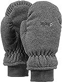 Barts Fleece Mitts Kids Jungen Handschuhe, Grau, Gr. 3 (4-6 Jahre)