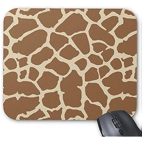 Giraffe Print - Brown and Khaki Animal