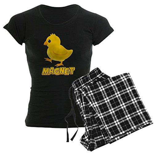 CafePress Chick Magnet Pajamas - Womens Novelty Cotton Pajama Set, Comfortable PJ Sleepwear