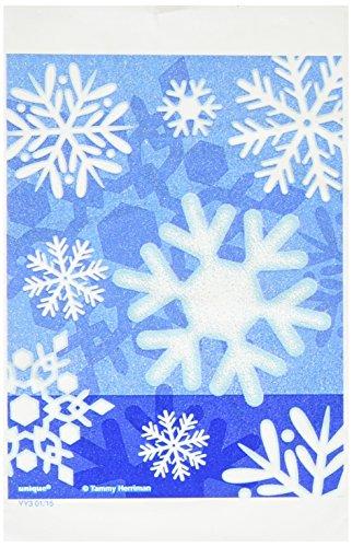 Unique Party Supplies Winter Schneeflocke Weihnachten behandeln Taschen, 50Stück (Parteien Für Den Winter Ideen)