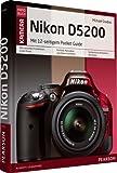 Nikon D5200: mit 12-seitiger Klappkarte (Pearson Photo)