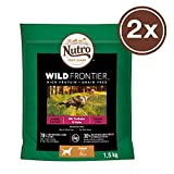 Nutro Hundefutter Trockenfutter Wild Frontier Junior <1 Reich an Truthahn & Huhn, 2 Beutel (2 x 1.5kg)