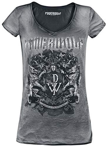 Powerwolf Metal is Religion - Crest T-Shirt schwarz L