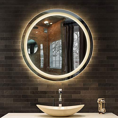 DELM 70cm Espejo baño iluminación LED Espejo Pared