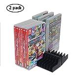 Titolare di supporto di stoccaggio di carte di gioco Nintendo Switch NS 24pcs dischi CD Porta carte # 21-yxzj