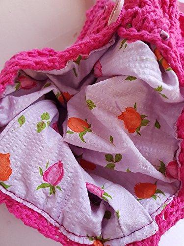 Handmade Crochet Shoulder bag/handbag/ purse - handmade-bags