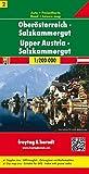Oberösterreich - Salzkammergut, Autokarte 1:200.000, freytag & berndt Auto + Freizeitkarten - Freytag-Berndt und Artaria KG