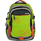 """Genius Polyester 48cms Multi Color Softsided Laptop Backpack (LT 1503-19"""")"""