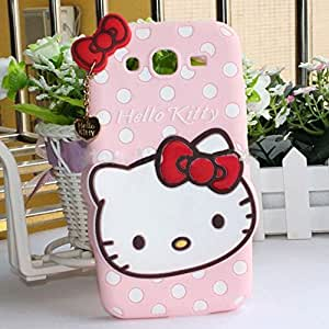 Hello kitty design soft silicone back case cover for SAMSUNG GALAXY GRAND DUOS 9082
