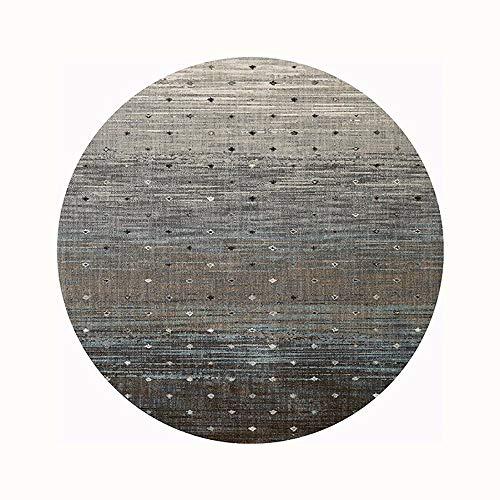 XXSS Moderne runde Teppich persönlichkeit lila teppiche Schlafzimmer Nacht Boden pad Rutschfeste tür Matte Computer Stuhl bodenmatte (größe : 160 * 160cm/62.99 * 62.99in) - Moderner Kunststoff-stuhl