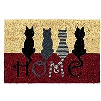 Felpudo moderno gatos diseño Home 40x60 cm