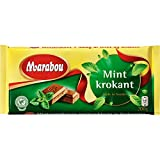Marabou Mintkrokant - Milchschokolade mit Minze Crisp 200g (3er Pack)