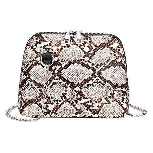 Kobay 2019 Fashion Handtasche Damen Leder Leopard Vielseitige Kette Umhängetasche