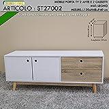 Siro Time Mobile, Weiß und Holz, Einheitsgröße