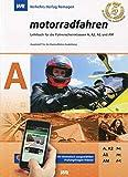 Führerschein LEHRBUCH 'MOTORRADFAHREN' KLASSE A , top aktuell!